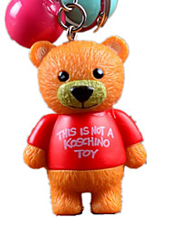 Key Chain Toys Novelty Bear Animal Unisex Pieces