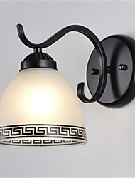 cheap -Euramerican / Ethnic / Casual / Sporty Wall Lamps & Sconces Metal Wall Light 200-240V / 110-120V 40W