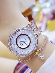 cheap -Women's Fashion Watch Unique Creative Watch Floating Crystal Watch Japanese Quartz Water Resistant / Water Proof Colorful Stainless Steel
