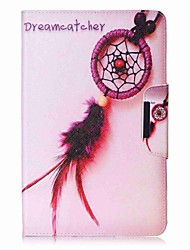 Dream Catcher Pattern Card Holder Wallet with Stand Flip Magnetic PU Leather Case for Samsung GALAXY Tab E 9.6 T560 T561 9.6 inch Tablet PC