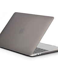 cheap -MacBook Case for Frosted Solid Color Polycarbonate New MacBook Pro 15-inch New MacBook Pro 13-inch Macbook Pro 15-inch MacBook Air