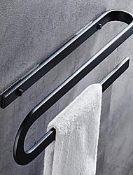 baratos -Barra para Toalha Europeu Alumínio 1 Pça. - Banho do hotel Bar de 2 torres