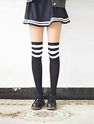 cheap -Women's Medium Stockings-Striped