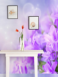 cheap -Pattern 3D Flower/Floral Home Decoration Rustic Wall Covering, Canvas Material Adhesive required Mural, Room Wallcovering