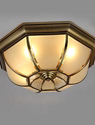 abordables -4 lumières Montage du flux Lumière d'ambiance - Style mini, 110-120V / 220-240V Ampoule non incluse / 15-20㎡ / E26 / E27