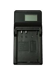 ismartdigi el20 lcd cargador de batería de la cámara usb para nikon en-el20 j1 j2 j3 a aw1 s1 - negro