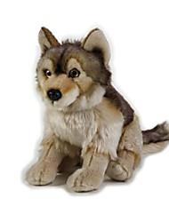 Stuffed Toys Toys Wolf Head Animals Kids Pieces