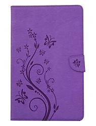тисненый держатель карты с подставкой магнитный карманный чехол для бумажника с кожаной сумкой с рисунком для Samsung Galaxy Tab t280 t285