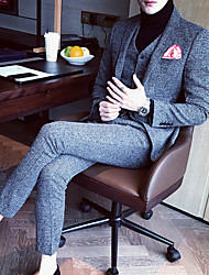 cheap -Men's Casual/Daily Casual Fall Winter Suit