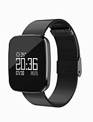 cheap -0.96 Inch OLED Smart Bracelet Water Proof Long Standby Calories Burned Pedometers Heart Rate Monitor for Ios Android Mobile Phone