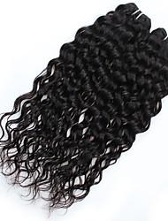 baratos -2 pacotes Cabelo Peruviano Onda de Água Não processado Tramas de cabelo humano Extensões de cabelo humano / Ondas Leves