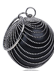 Women Bags Polyester Evening Bag Buttons Pearl Detailing for Casual All Seasons Blue Black Red