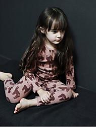 cheap -Girls' Sleepwear-Cotton-Fall Long Sleeve