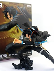 economico -Figure Anime Azione Ispirato da One Piece Ace PVC 15 CM Giocattoli di modello Bambola giocattolo