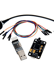 Geeetech Voice Recognition Module kit Microphone + USB to RS232 TTL Module + Jumper Wire