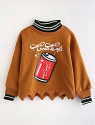 preiswerte -Mädchen Bluse Karton Baumwolle Herbst Lange Ärmel