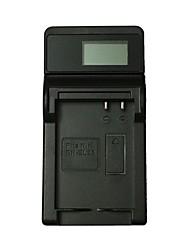 ismartdigi el23 lcd usb cargador de batería de la cámara para nikon p900s p610s p600 s810c- negro