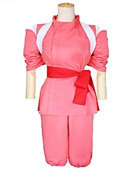cheap -Princess Outfits Masquerade Movie Cosplay Red Top Pants Belt More Accessories Halloween Carnival Children's Day New Year Poly/Cotton
