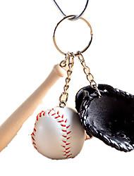 Key Chain Toys Sphere Baseball Unisex Pieces