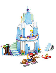 cheap -Building Blocks Toys House Pieces Gift