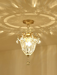 Chic & Modern Retro Flush Mount For Indoors Bedroom Hallway AC 220-240 AC 110-120V Bulb Not Included