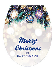 economico -Natale Parole e citazioni Vacanze Adesivi murali Adesivi 3D da parete Adesivi toilet 3D, Vinile Decorazioni per la casa Sticker murale