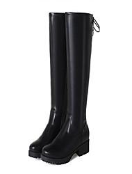 Недорогие -Для женщин Обувь Материал на заказ клиента Зима Верховые ботинки Модная обувь Армейские ботинки Удобная обувь Оригинальная обувь С