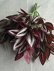 cheap -30cm 3 Pcs Home Decoration Artificial Green Plants Leaves