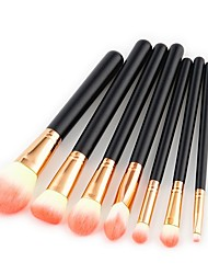 cheap -7 pcs Contour Brush Makeup Brush Set Blush Brush Eyeshadow Brush Brow Brush Concealer Brush Powder Brush Foundation Brush Pony Synthetic