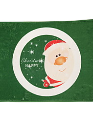Santa Claus Flocking Plastic Foam Mat
