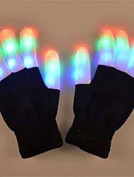 LED Lighting LED Gloves Toys Holiday Lighting Fingertips Adults' 2 Pieces