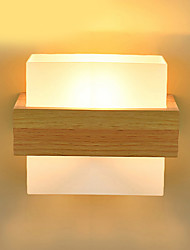 Wall Light Ambient Light Wall Sconces 40W 220V E27 Modern/Contemporary Wood