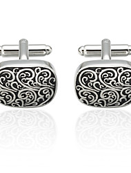 cheap -Silver Cufflinks Brass Costume Jewelry Men's Costume Jewelry For Anniversary / Casual