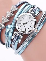 economico -Per donna Orologio casual Orologio alla moda Creativo unico orologio Cinese Quarzo Cronografo PU Banda Casual Natale Nero Blu Argento Oro