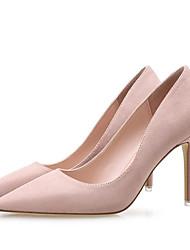 preiswerte -Damen Schuhe Stoff Frühling Herbst Pumps High Heels Spitze Zehe Für Kleid Party & Festivität Schwarz Rot Hautfarben