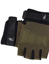 Недорогие -Спортивные перчатки Перчатки для велосипедистов Сохраняет тепло Катание по пересеченной местности Без пальцев Искусственная кожа