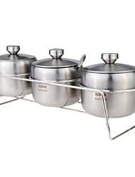 Недорогие -1set Кухня Нержавеющая сталь Пряжки для специй