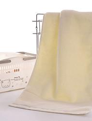 Свежий стиль Полотенца для мытья,Однотонный Высшее качество Полиэстер/Хлопок Полотенце