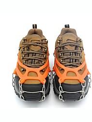 Snekæder til sko Crampon fastspændingspigge til sko Udendørs Skridsikker Klatring Udendørs Træning Metallegering cm Stk.