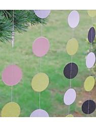 abordables -Cumpleaños Plástico duro Decoraciones de la boda