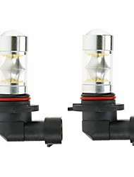 cheap -Sencart 2PCS 9005 HB3 9145 H10 100W LED Fog Lamp