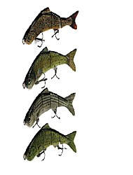 preiswerte -1 Stück Harte Fischköder g / Unze mm Zoll, Kunststoff Seefischerei Köderwerfen Spinn Spring Fischen Fischen im Süßwasser Bootsangeln /