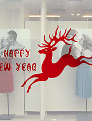 Natal Adesivos de Parede Autocolantes de Aviões para Parede Autocolantes de Parede Decorativos,Vinil Decoração para casa Decalque For