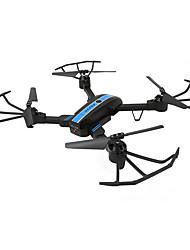 economico -RC Drone FQ777 FQ777-24 4 canali 6 Asse 2.4G Wi-fi Con videocamera HD 720P Quadricottero Rc WIFI FPV Mini Illuminazione LED Tasto Unico