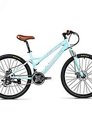 Mountain Bikes Cykling 21 Trin 26 tommer (ca. 66cm)/700CC Shimano Dobbelt skivebremse Affjedringsgaffel Normal Hård bagskærm Anti-glide