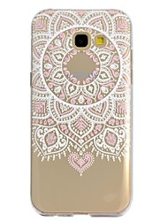 cheap -Case For Samsung Galaxy A5(2017) A3(2017) Pattern Back Cover Lace Printing Soft TPU for A3(2017) A5(2017)