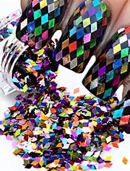 Nail glitter art deco / retro sequins 0.003kg / box