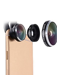 cheap -Cell Phone Lens Mactrem 235 Degree FishEye 19x Super Macro Universal Camera Phone Lens