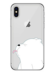 For iPhone X iPhone 8 Case Cover Pattern Back Cover Case Animal Cartoon Soft TPU for Apple iPhone X iPhone 8 Plus iPhone 8 iPhone 7 Plus