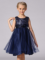 cheap -2015 Children Girls Evening Dress School Party Dress Formal Dress Evening Wedding Party Dresses Full Dress For SZ 3~10Y